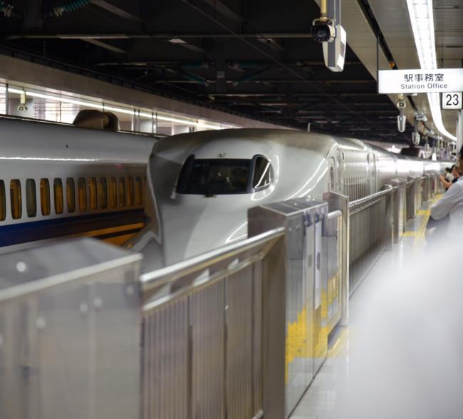 Bullet Train Back to Tokyo