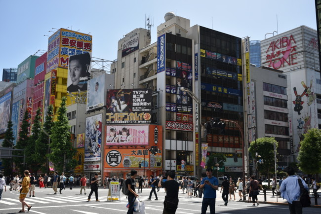 Electronics District in Tokyo