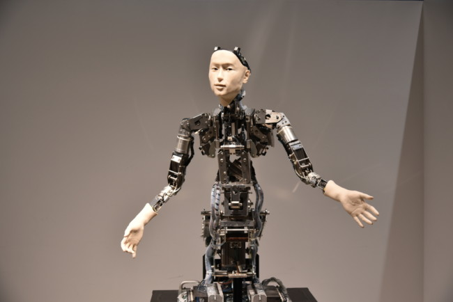 Robot at Tokyo Science Museum