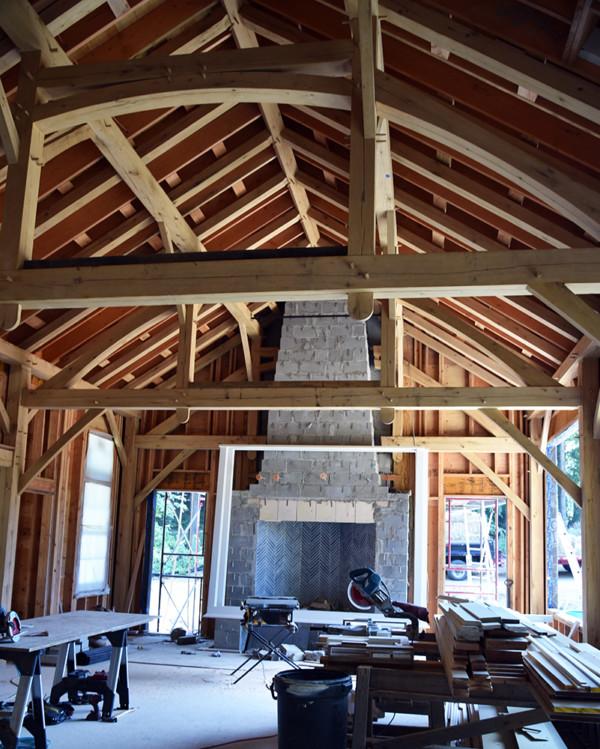 Great Room Under Construction