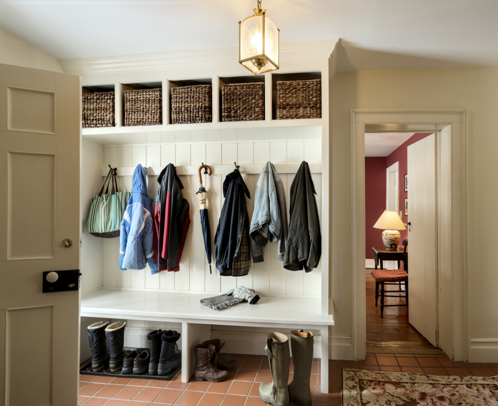 My Farmhouse Mudroom