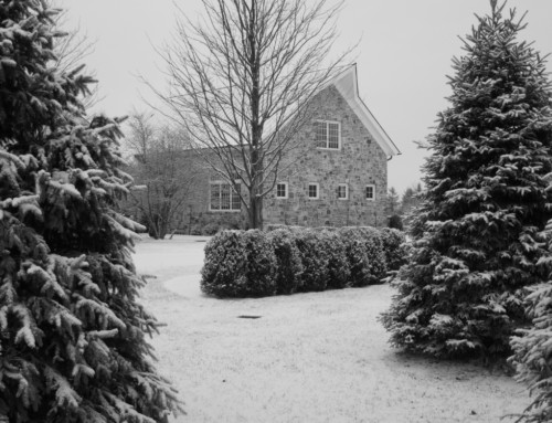 6 Homes in the Snow(Including My Old Farm House)