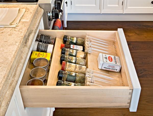 Drawer Spice Storage