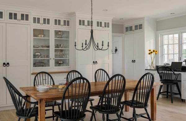 Enclosed Kitchen Storage