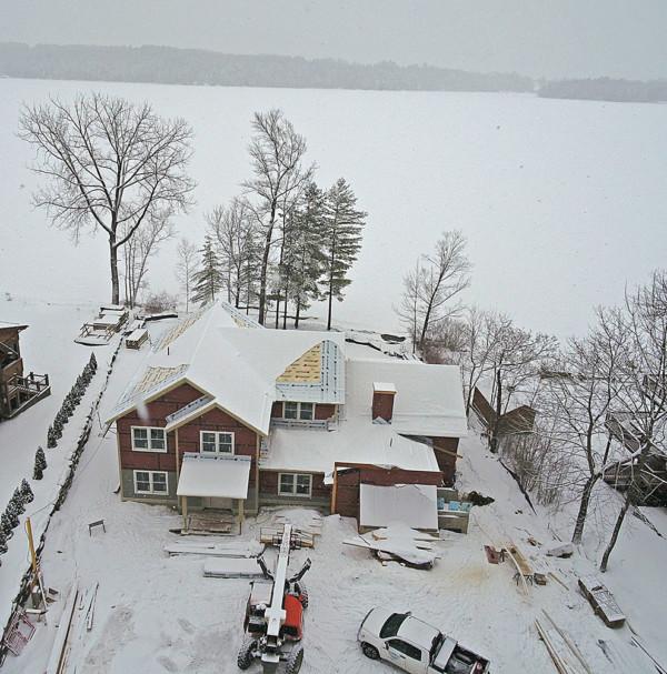 Lake Home in Massachusetts