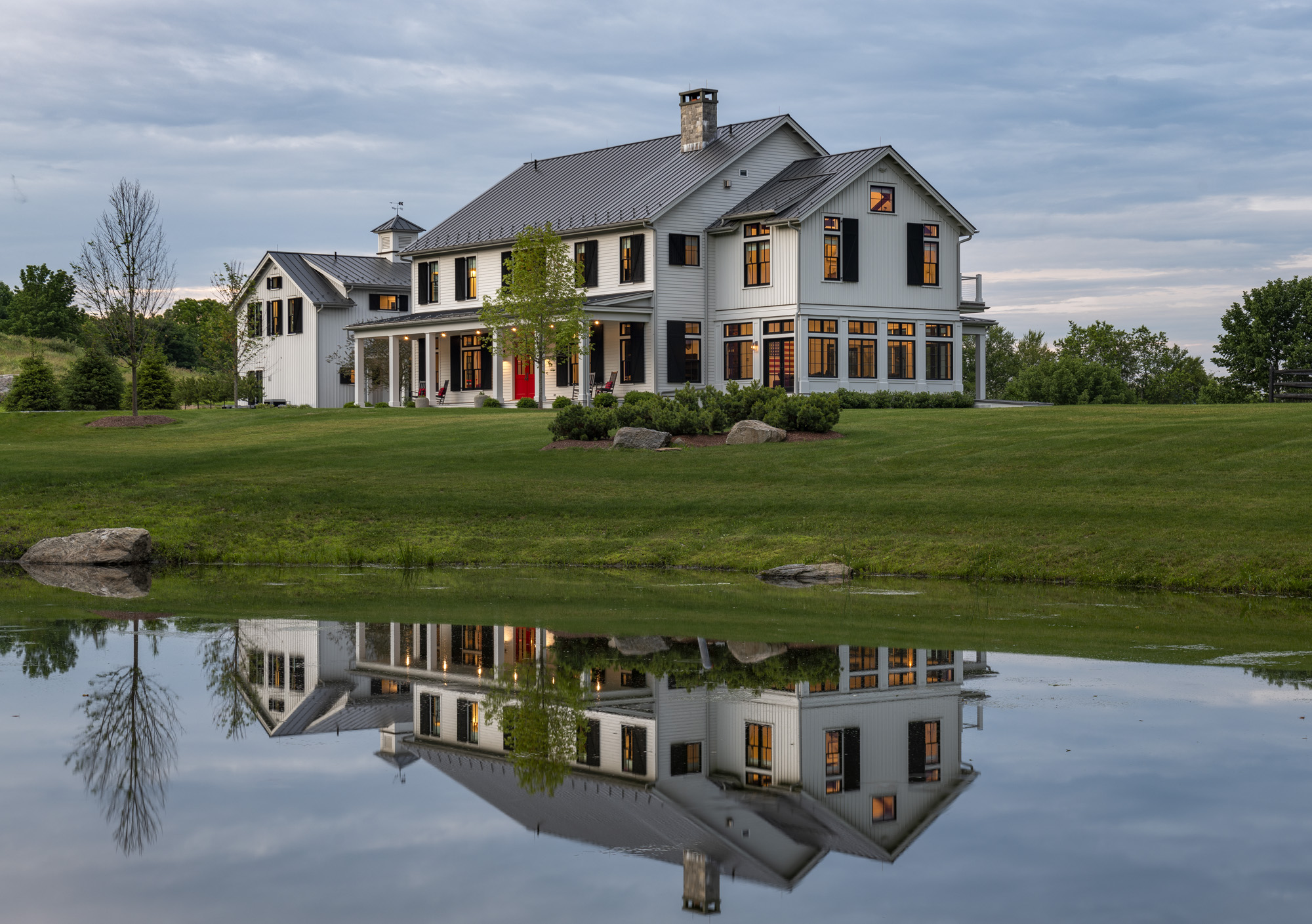 Modern Farmhouse in the Country
