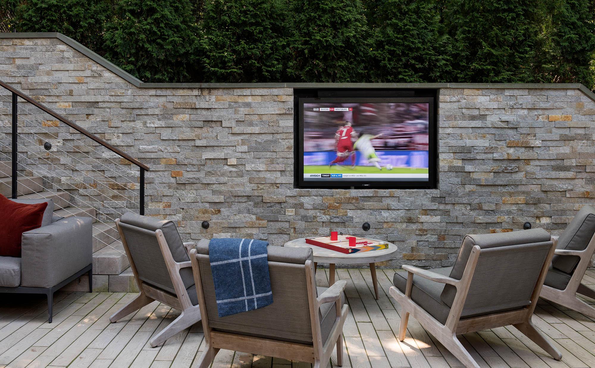 Outdoor TV Viewing