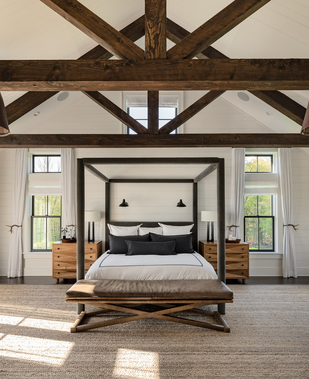 Crisp Architects: Modern Farmhouse-Upstate