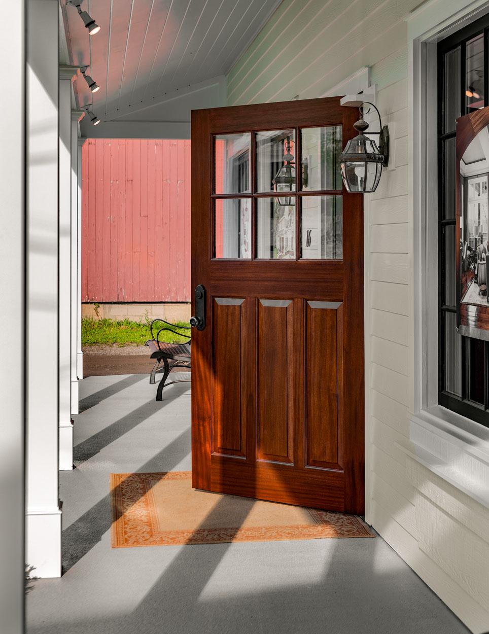 New Front Door by Rodger Manley