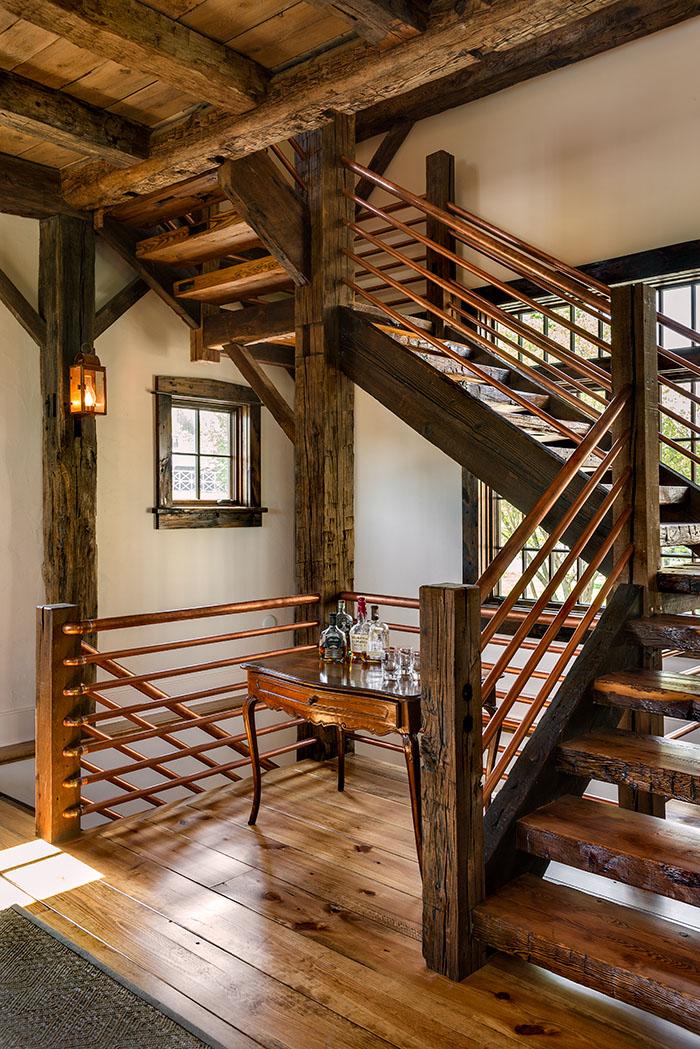 Rustic Stair Photo by Rob Karosis