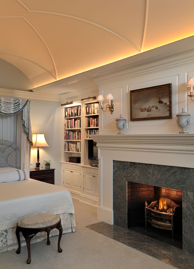 Master Bedroom Connecticut Estate