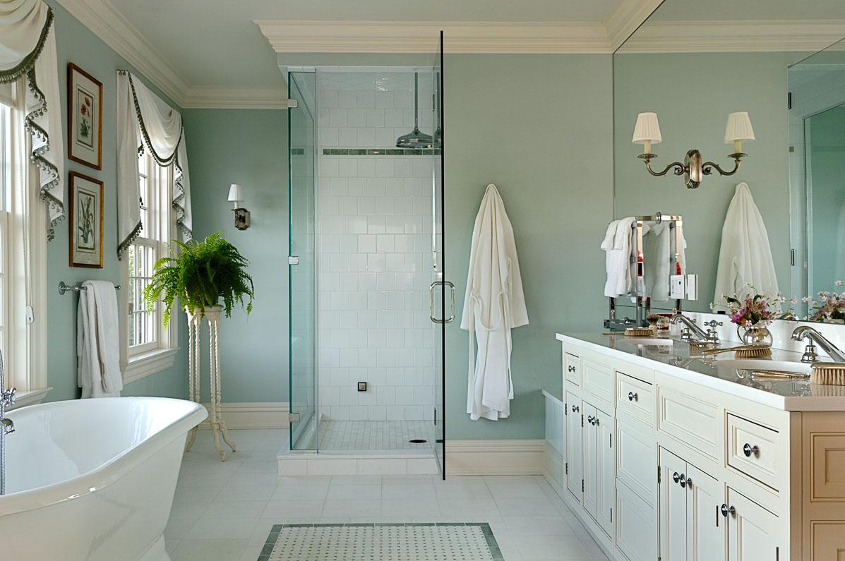 Master Bathroom Connecticut Estate