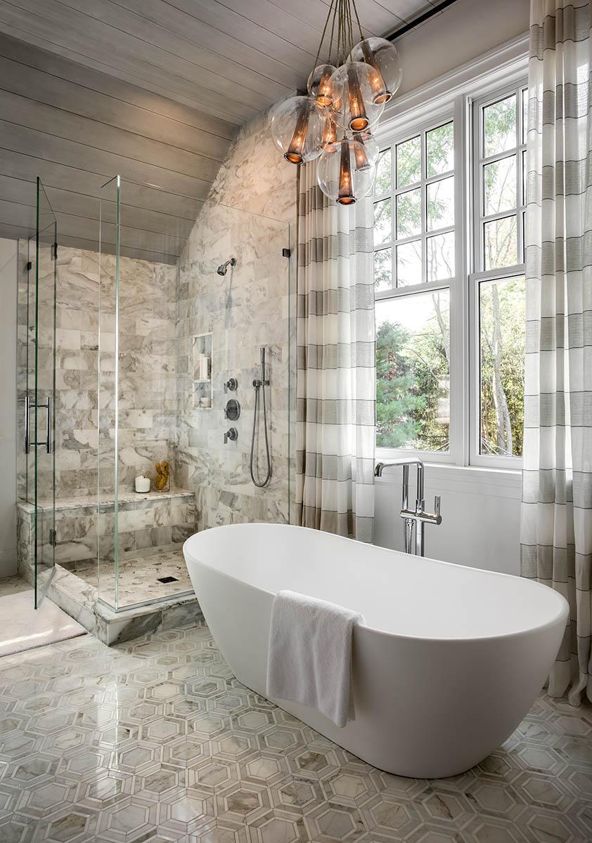 Grey Master Bath