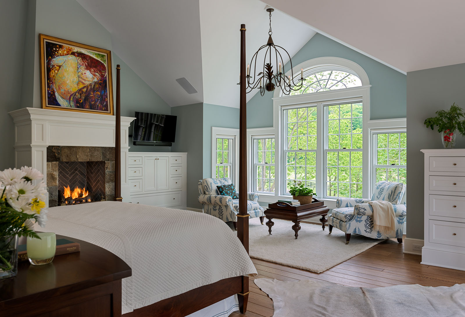 Master Bedroom Stream Side Home