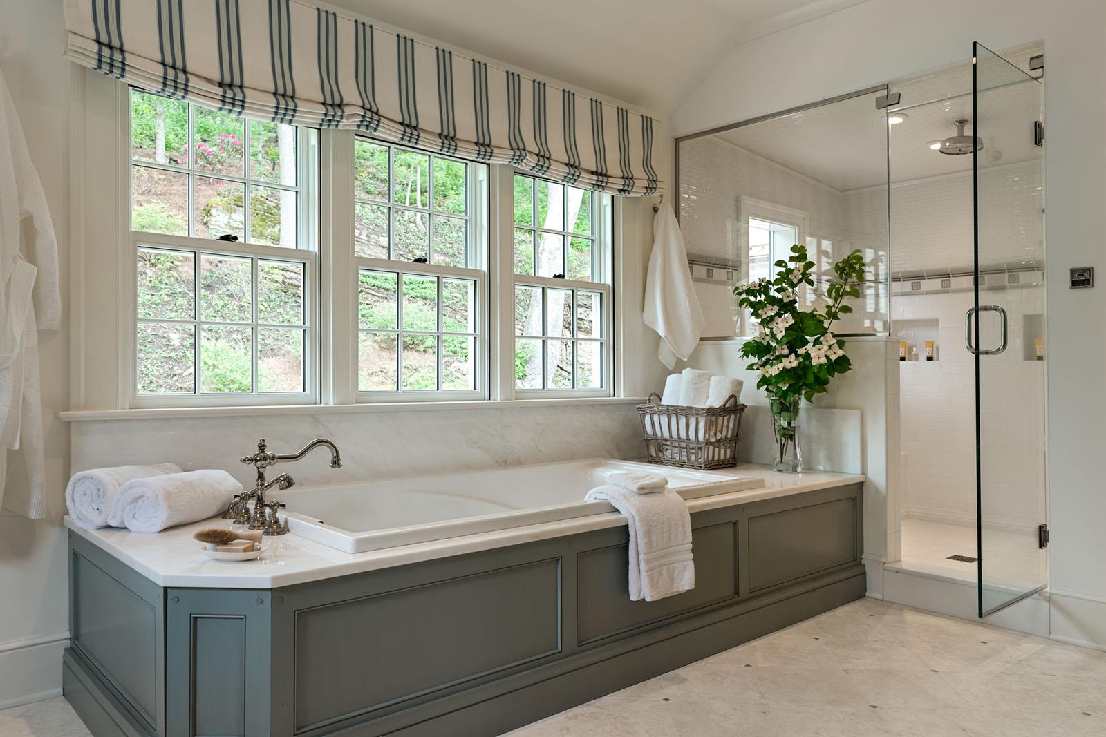 Master Bathroom Stream Side Home