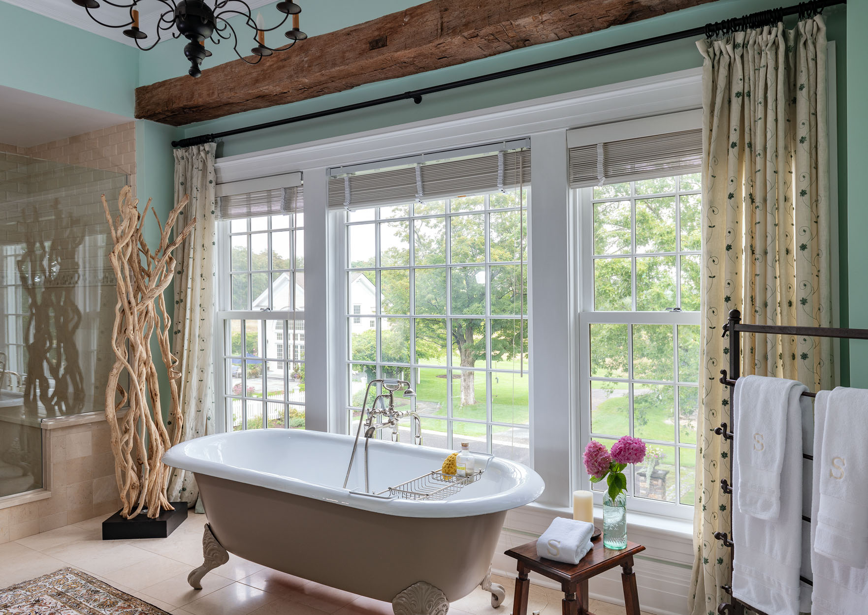 Master Bath Country Home