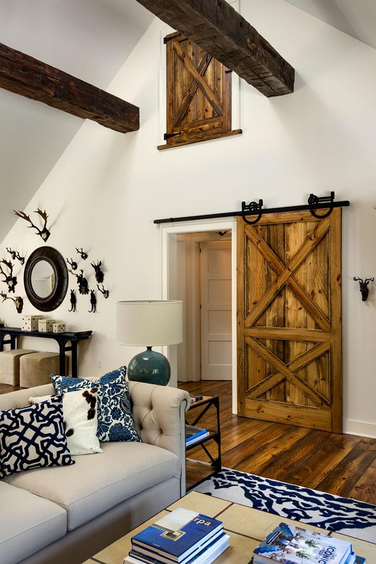 Natural Barn Door