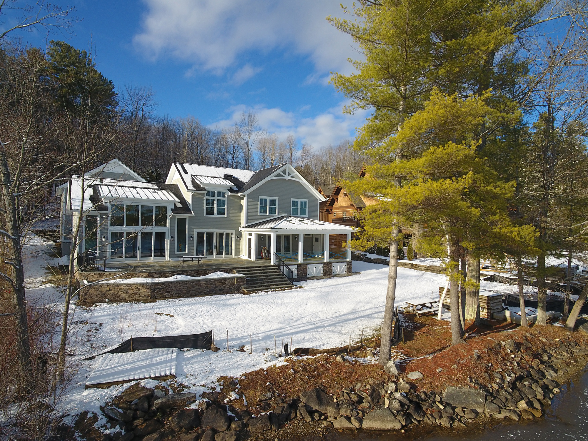 Lake Home Almost Finished