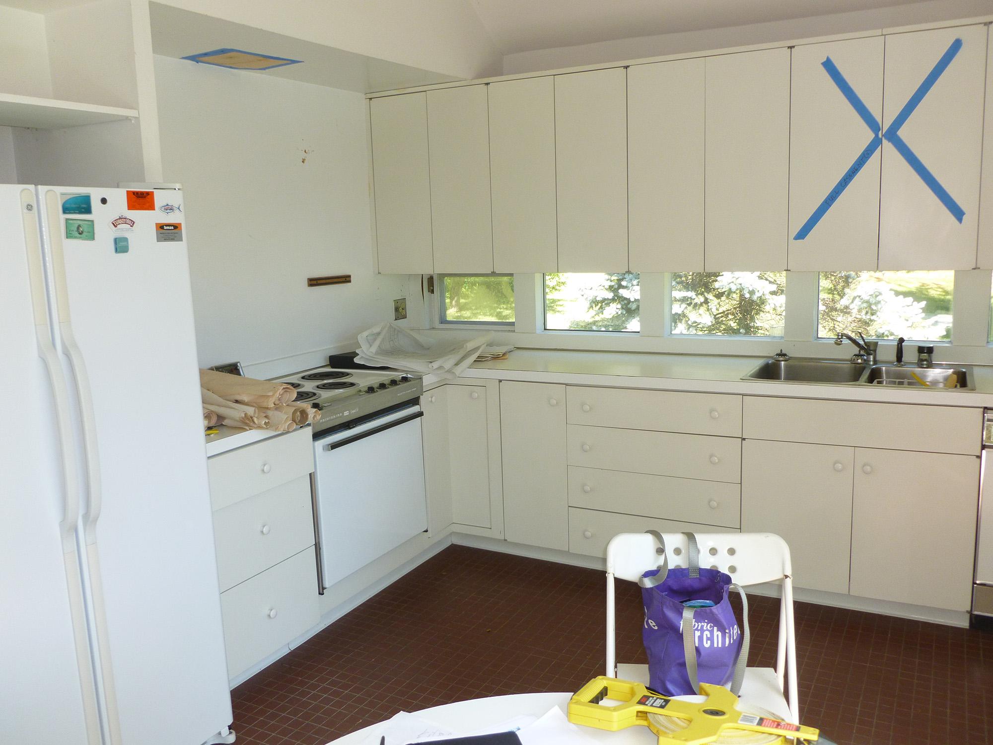 Modern Chef's Kitchen Before