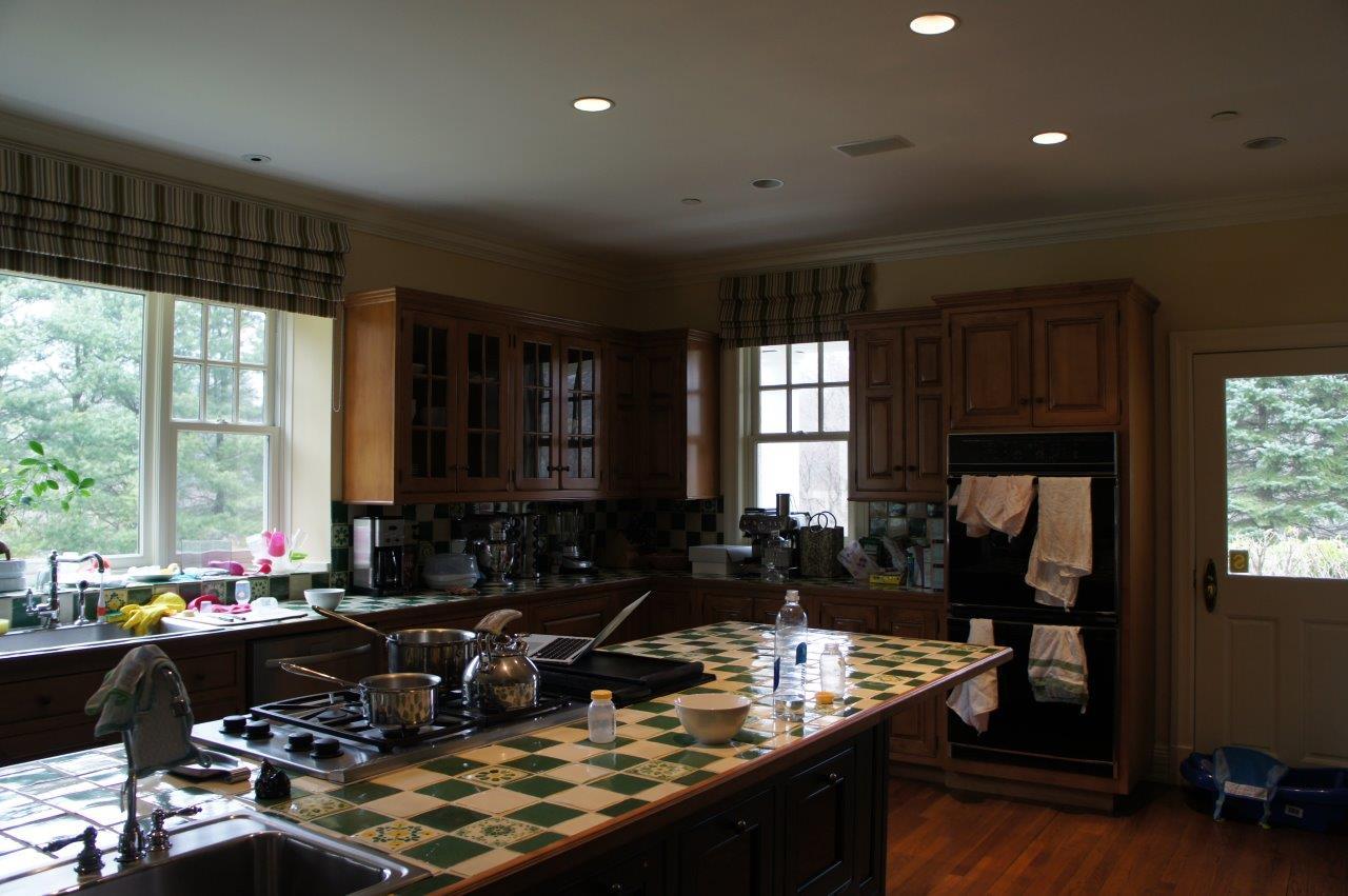 Grey Kitchen Before