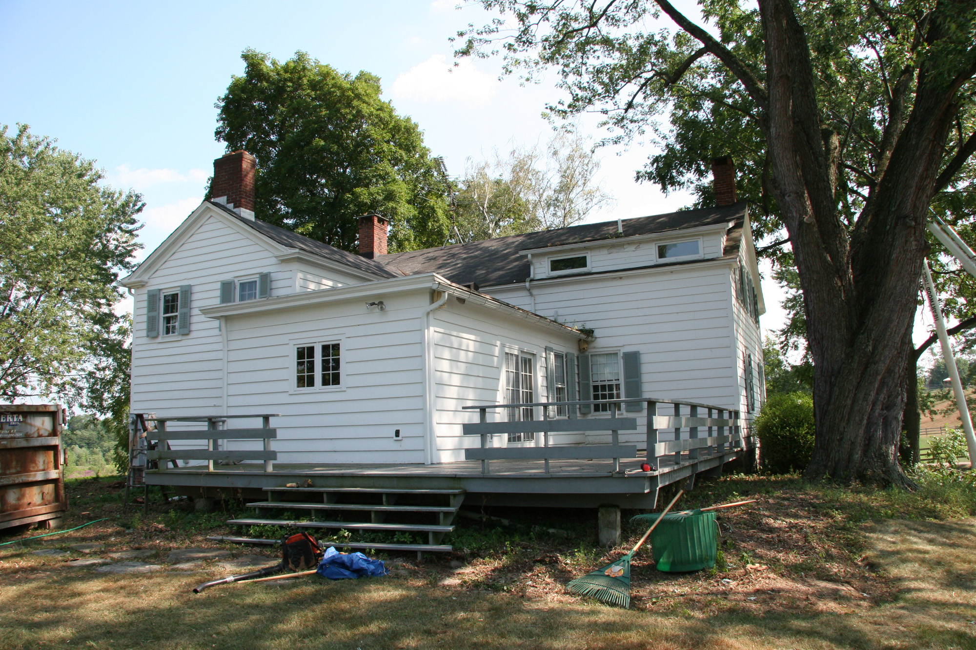 Addition/Renovation Before