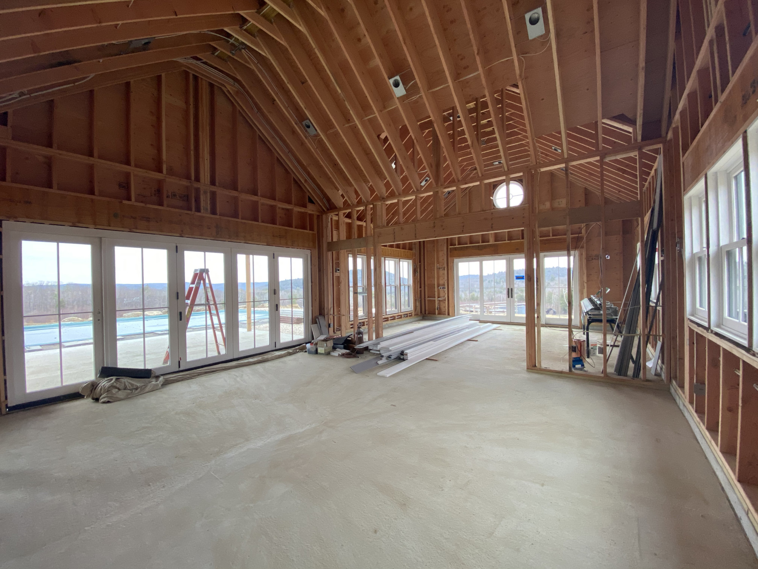 Berkshire Poolhouse Interior