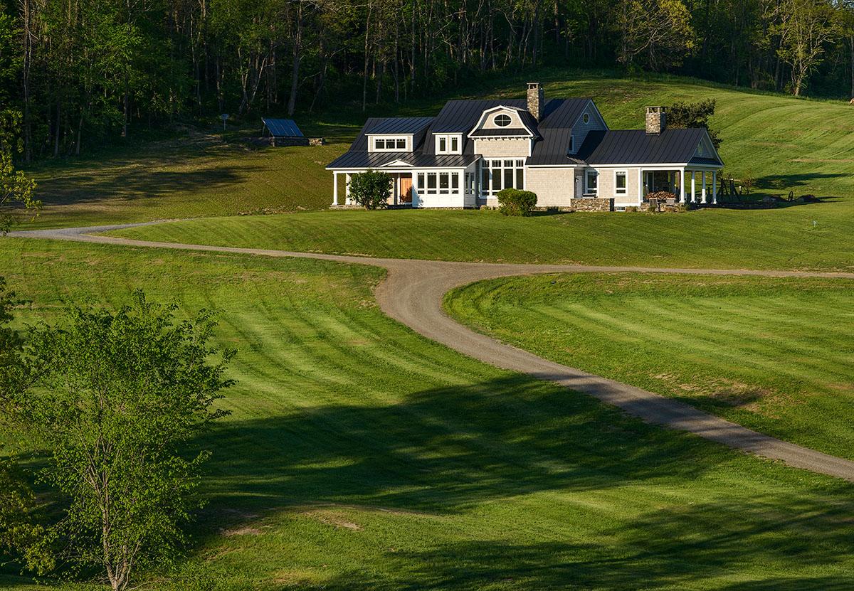 Gambrel Country Home