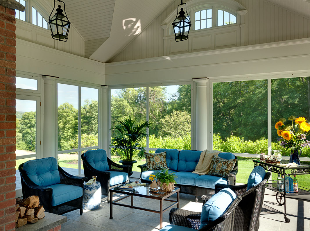 Tall Screened Porch