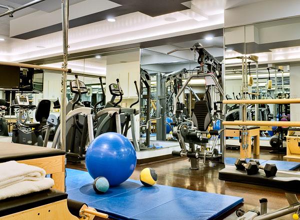 Gym with Sauna