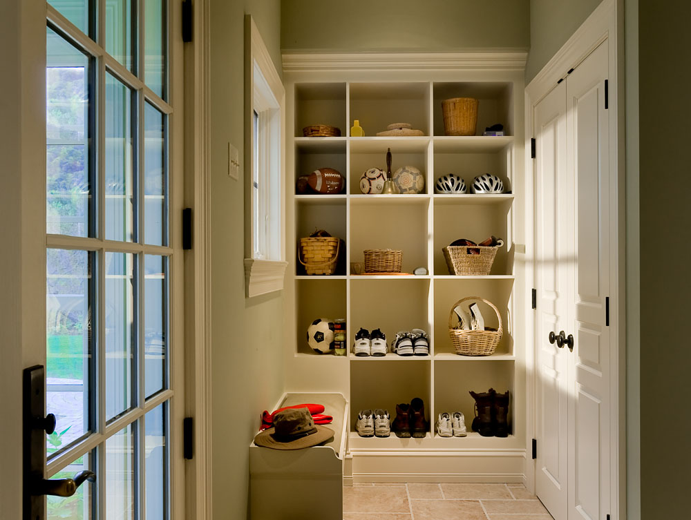 Green Mudroom