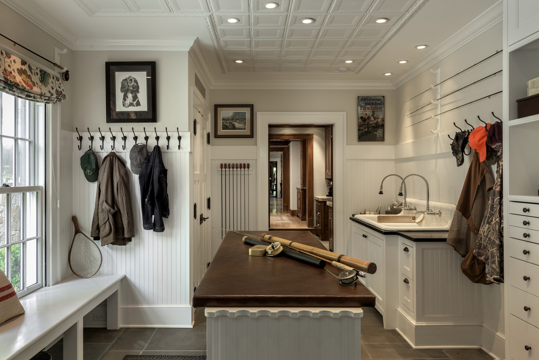 Sportsman's Mudroom