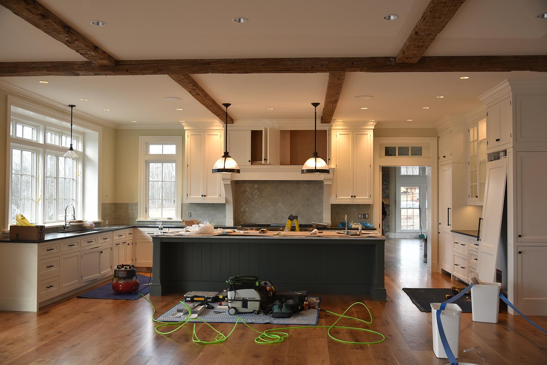 Kitchen-Connecticut Home