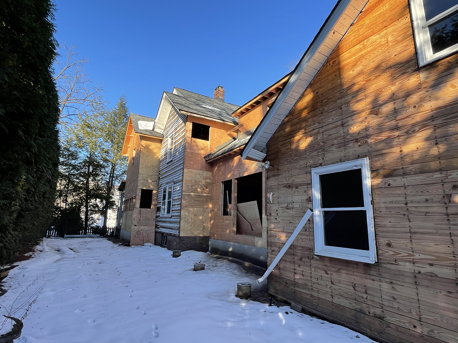 New Jersey Renovation/Addition Rear View