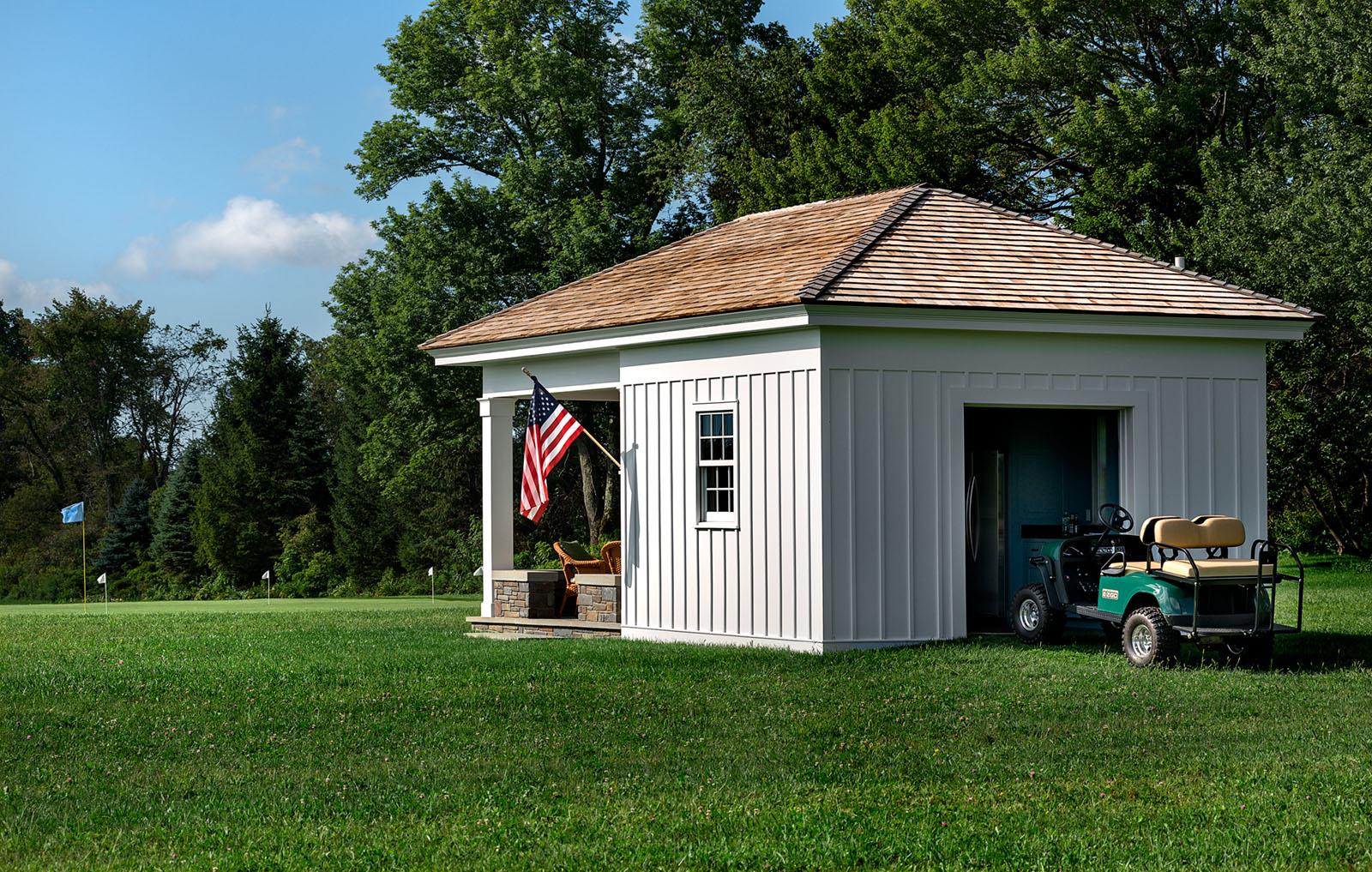 Golf Cart Storage Building