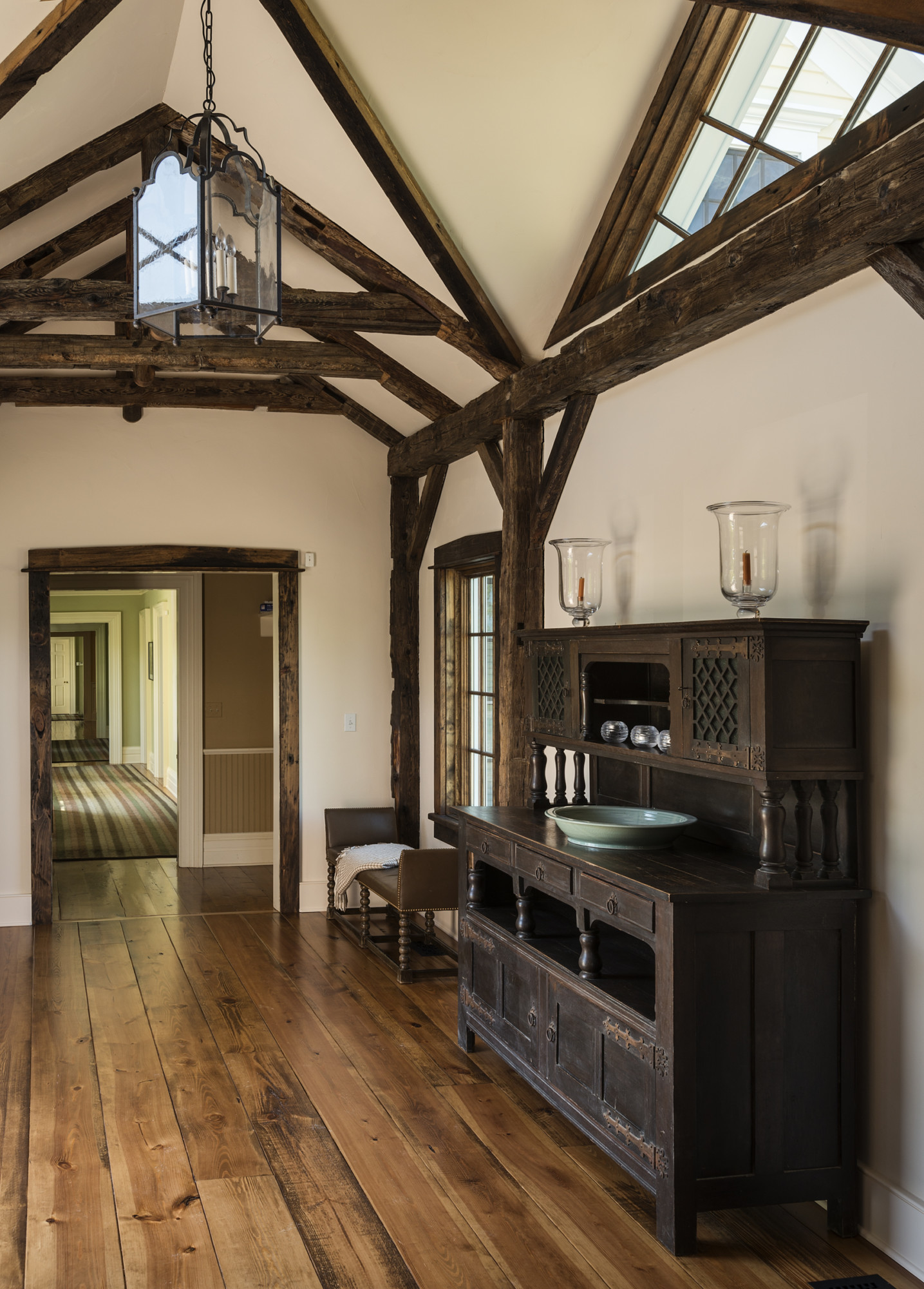 Entry to Stone Family Room