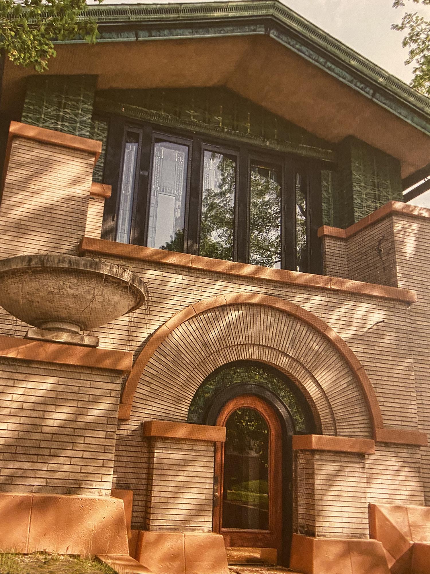 Dana-Thomas House by Frank Lloyd Wright
