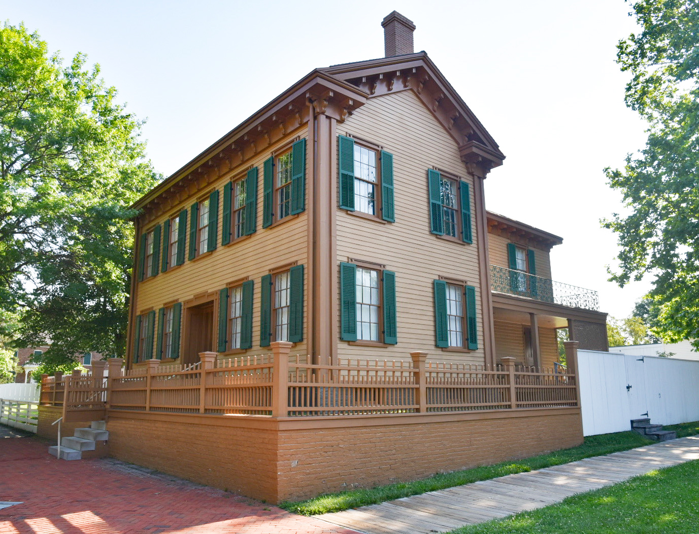 Abraham and Mary Todd Lincoln's Home