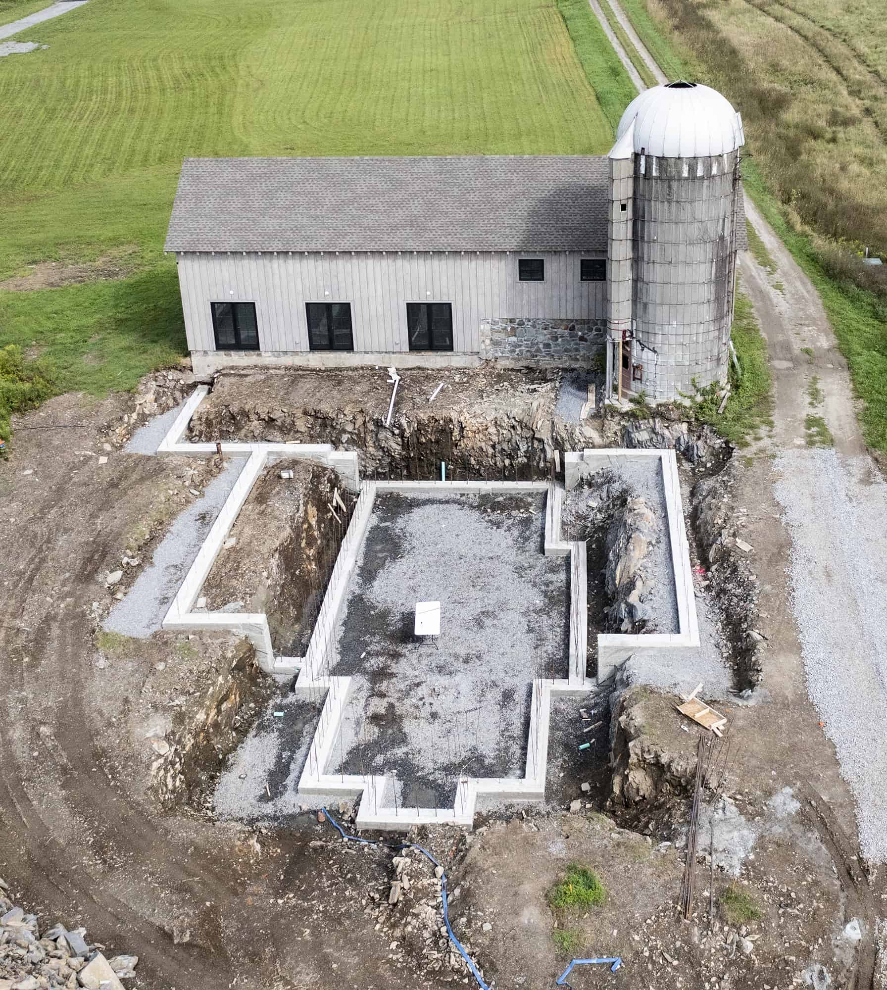 New Home With Barn Connection