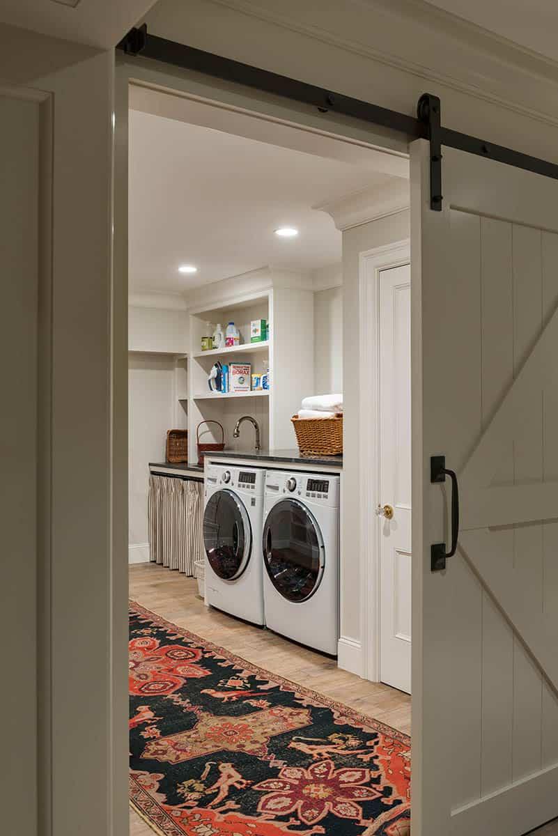 Millbrook Basement Laundry Room